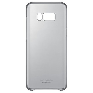 Samsung Clear Protective Cover for Samsung Galaxy S8 Plus - Black Clear Protective Cover - Samsung Galaxy S8 Plus