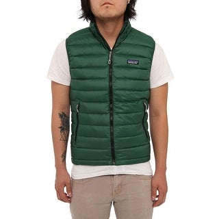 Patagonia Men Men's Down Sweater Vest Vest Malachite Green