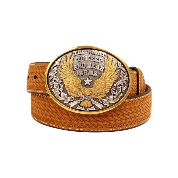 Nocona Western Belt Mens The Right to Keep and Bear Arms