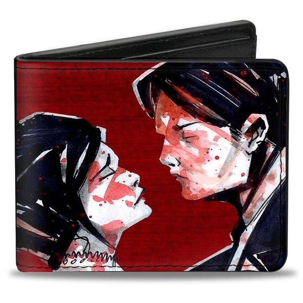 Three Cheers For Sweet Revenge Red + My Chemical Romance Bi Fold Wallet - One Size Fits most
