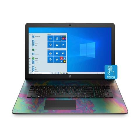 "HP Laptop 17-CA AMD Ryzen 5 12GB 1TB HDD 17.3"" Touch Win 10 (Renewed)"