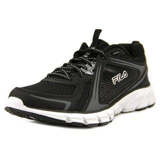 Fila Threshold 2 Men Round Toe Synthetic Black Running Shoe