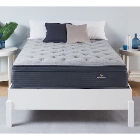 Serta Luxe Edition Grandmere Plush Pillowtop 14-inch Hybrid Mattress