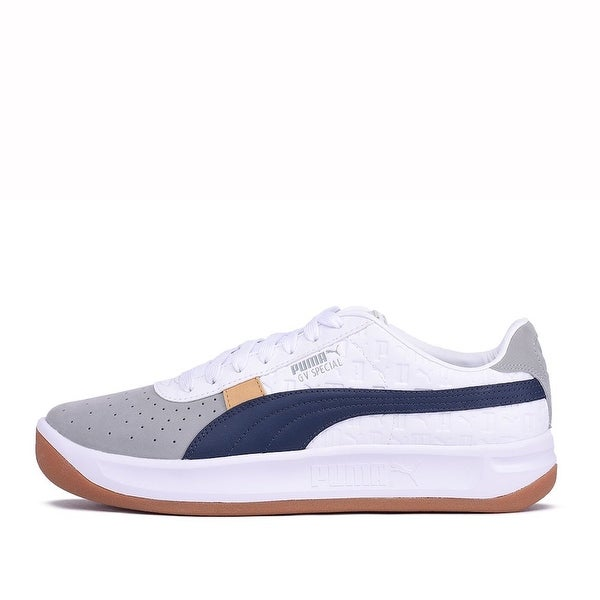 Shop PUMA Mens GV Specia Leather Low Top Lace Up Fashion