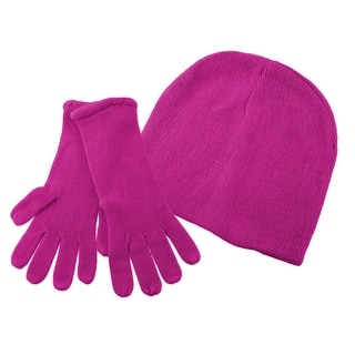 Super Soft Fuchsia Winter Hat, Gloves Set|https://ak1.ostkcdn.com/images/products/is/images/direct/c900b6251012a6c8c2d5483c9e68623c0f26f492/Super-Soft-Fuchsia-Winter-Hat%2C-Gloves-Set.jpg?impolicy=medium