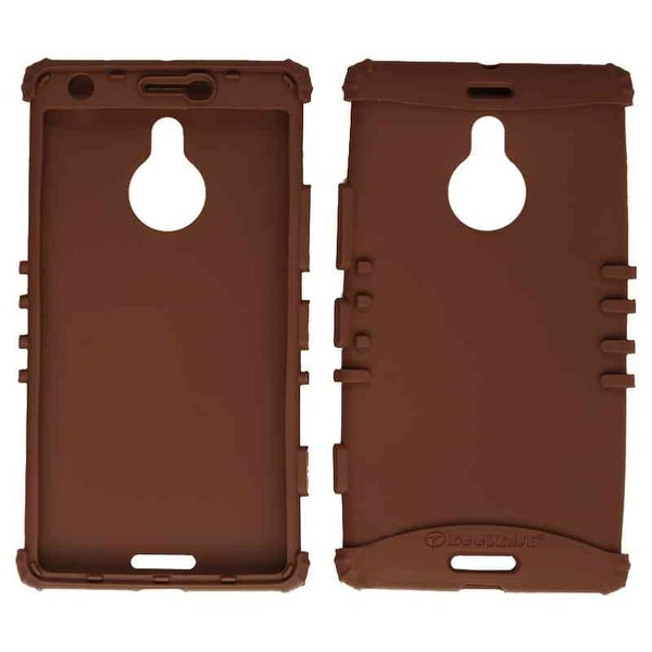 Unlimited Cellular Rocker Series Skin Case for Nokia Lumia 1520 (Brown)