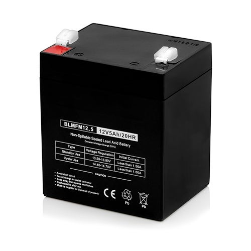 Replacement AGM SLA Battery 12V-5Ah (Single Pack) Replacement AGM SLA Battery
