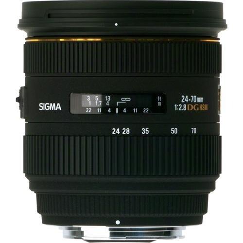 Sigma 24-70mm f/2.8 IF EX DG HSM Lens for Sony A (International Model)