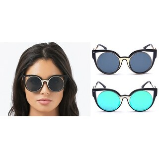 PRIVE REVAUX The Feminist Limited Edition Handcrafted Designer Cat-Eye Sunglasses For Women