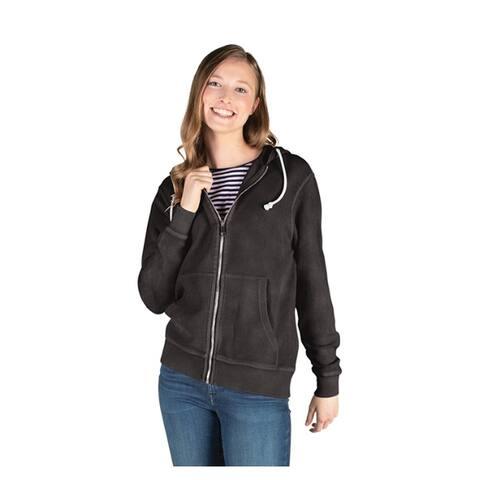 Women's Full Zip 100% Cotton Hoodie