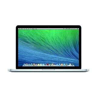 """Apple MacBook Pro MGXA2LL/A Intel Core i7-4770 X4 2.2GHz 16GB 256GB SSD 15.4"""", Silver (Refurbished)"""