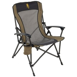 Browning Fireside Chair - Gold Buckmark