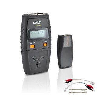 Network Cable Tester W/ UTP, FTP, BNC Coaxial, Telephone Continuity, Short Circuit, Open Connection & Test Leads Included