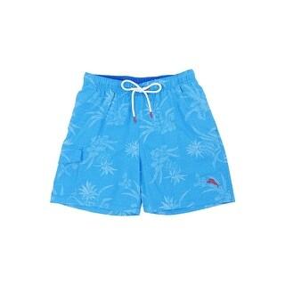 Tommy Bahama Men's Huli Pineapple Swim Trunks - blue canal