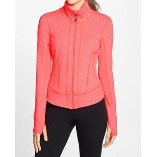Zella NEW Pink Neon Women's Size XL Active Athletic Basic Jacket