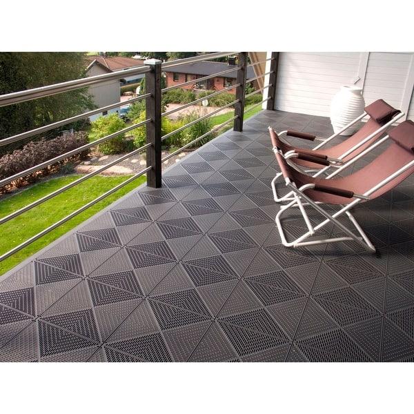 Mats Inc Bergo Unique Garage Tile 14 9 X 14 0
