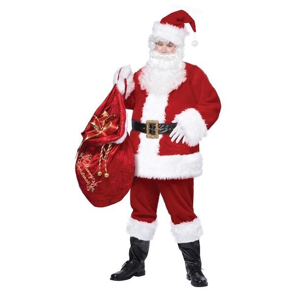 Plus Size Deluxe Classic Santa Suit