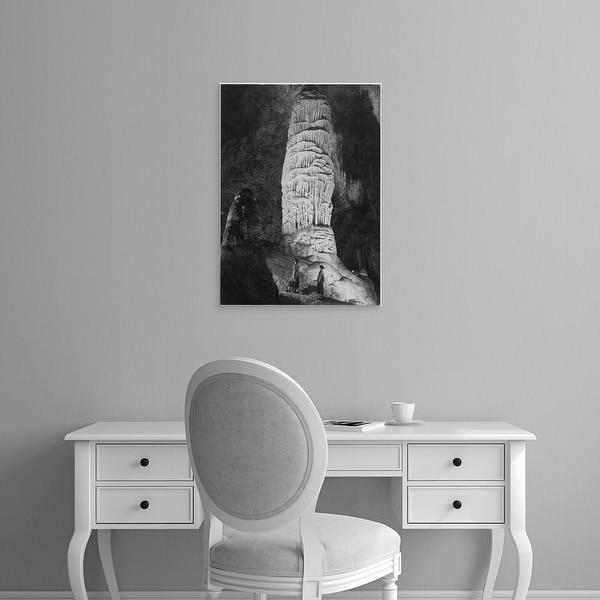 Easy Art Prints Ansel Adams's 'Carlsbad Caverns' Premium Canvas Art