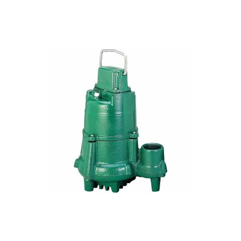 Zoeller N98 1/2 HP Cast Iron Submersible Sump Pump (Non-Automatic) -