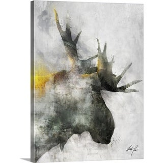 """Mystique Giants I"" Canvas Wall Art"