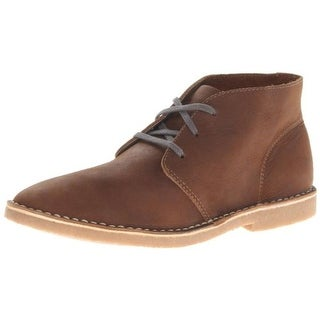 SeaVees Mens 3 Eye Leather Chukka Boots