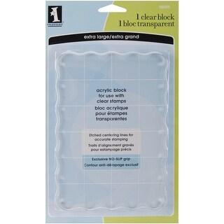 Inkadinkado Clear Acrylic Block