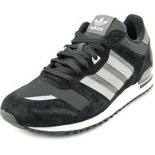 Adidas ZX 700 Men  Round Toe Suede Black Running Shoe