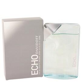 Echo by Davidoff Eau De Toilette Spray 3.4 oz - Men