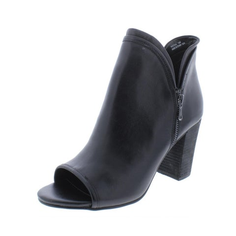 Steve Madden Womens Philygal Booties Leather Dressy