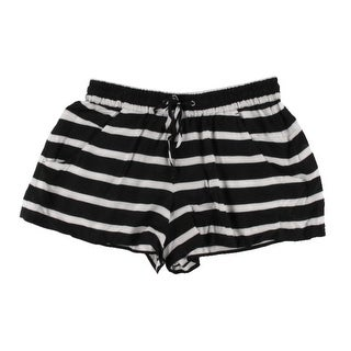 French Connection Womens Striped Lightweight Casual Shorts