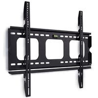 "Mount-It! Low-Profile TV Wall Mount 1"" Slim Fixed Bracket for 32, 40, 42, 48, 49, 50, 51, 52, 55, 60 inch TVs"