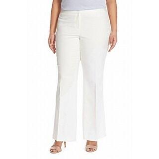 Vince Camuto Womens Plus Flare-Leg Dress Pants