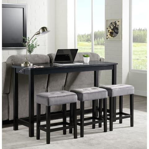 Picket House Furnishings Zaid Multipurpose Bar Table Set