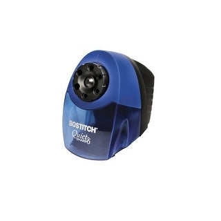 Link to Bostitch QuietSharp 6-Hole Heavy Duty Electric Pencil Sharpener, Blue Similar Items in Pencil Sharpeners