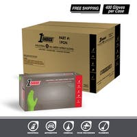 1st Choice Premium Green Nitrile Industrial Latex Free Disposable Gloves