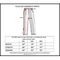 Plus Size Women's Charcoal Palazzo Pants Lose Fit Wide Leg Folding Waist Sexy Comfy - Thumbnail 2