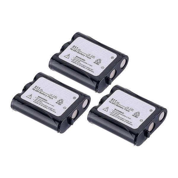 Replacement Battery For Panasonic KX-TG5100 Cordless Phones - P511 (850mAh, 3.6v, NiCD) - 3 Pack