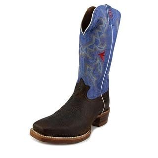 Tony Lama Blonde Bonham Pointed Toe Leather Western Boot