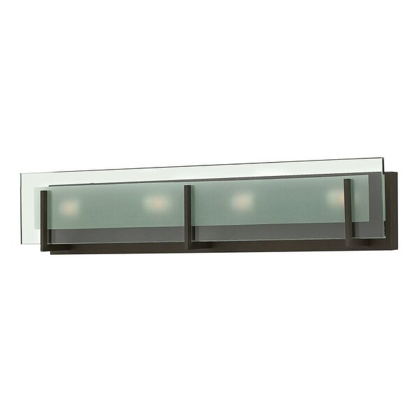 Hinkley Lighting 5654 4-Light ADA Compliant Bath Bar from the Latitude Collection
