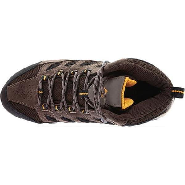 24cec05e1c2 Shop Columbia Men's Crestwood Mid Waterproof Hiker Cordovan/Squash ...