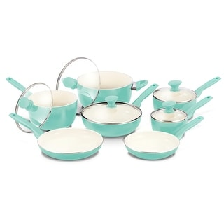 Link to GreenPan Rio Ceramic Nonstick 12-Piece Cookware Set Similar Items in Cookware