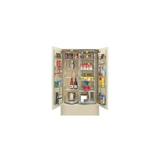 """Rev-A-Shelf 5722-36 5722 Series 30.75"""" Wide Blind Corner Pull Out Base Organizer for 36"""" Base Cabinet - N/A"""