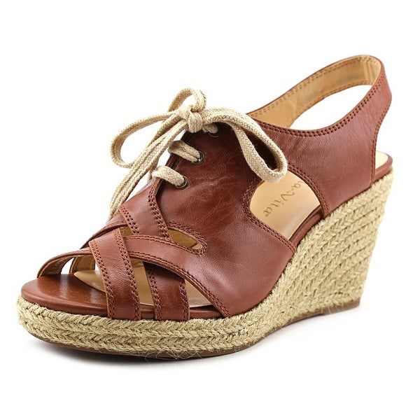 Bella Vita Gracia Women N/S Open Toe Leather Wedge Sandal