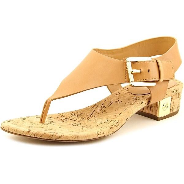 570c9e292d3 Shop Michael Michael Kors London Thong Open Toe Leather Thong Sandal ...
