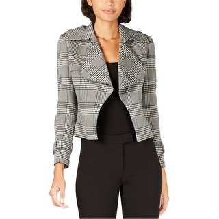 Link to Anne Klein Womens Houndstooth Jacket, blue, 8 Similar Items in Women's Outerwear