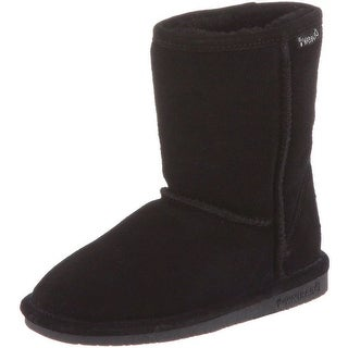 Bearpaw Boots Girls Emma Pull on Stylish Suede Wool (4 options available)