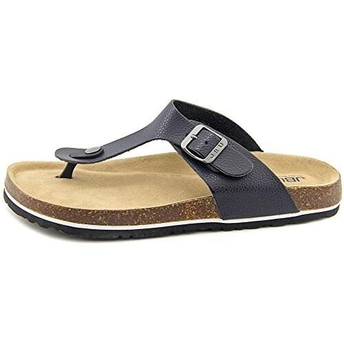 JBU Womens Laura Too Open Toe Casual Slide Sandals
