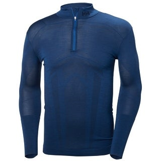 Helly Hansen Mens Lifa Merino Seamless 1/2 Zip Baselayer