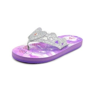 Stride Rite Anna Elsa Eva Open Toe Synthetic Flip Flop Sandal