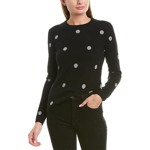 Qi Polka Dot Cashmere Sweater